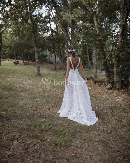 Vestido de novia 2021