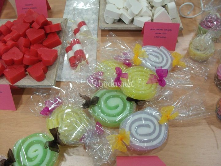 Caramelos de jabón