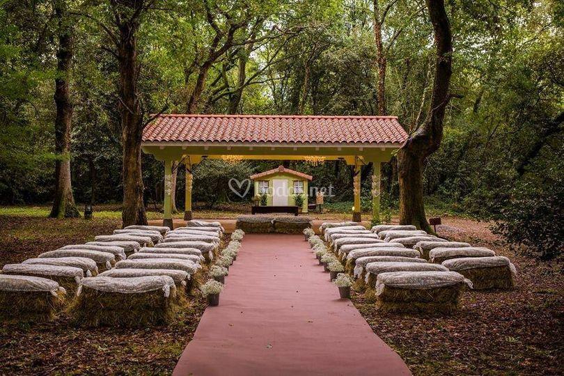 Ceremonia campestre de hotel san roman de escalante foto 5 for San roman de escalante restaurante