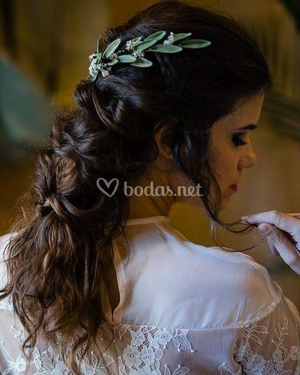 Peinado Rama de Olivo