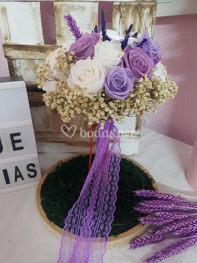 Ramos de novia personalizados
