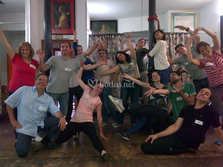 Ensayo de Flashmob para bodas