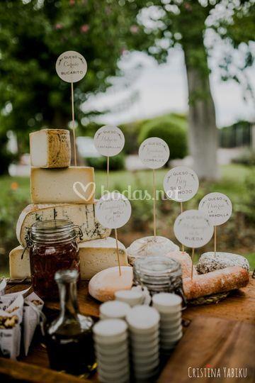 Bodegón de quesos