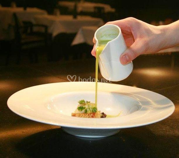 Crema jarreada