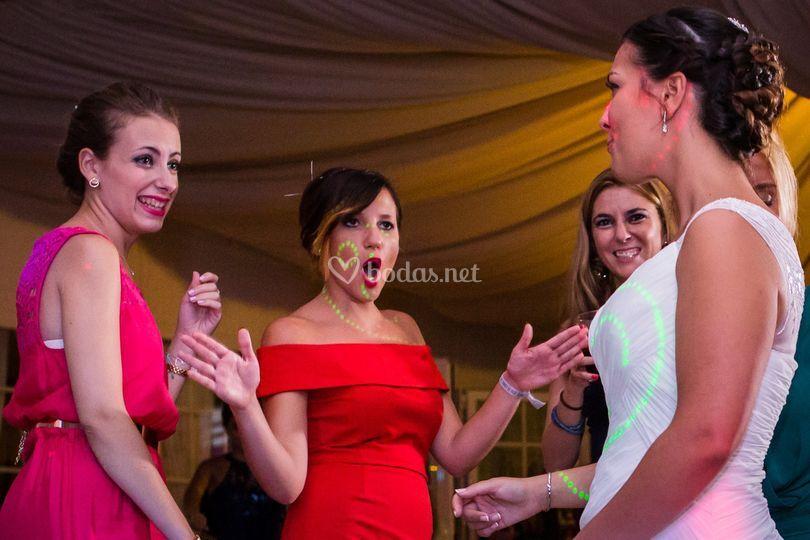 Baile con amigas