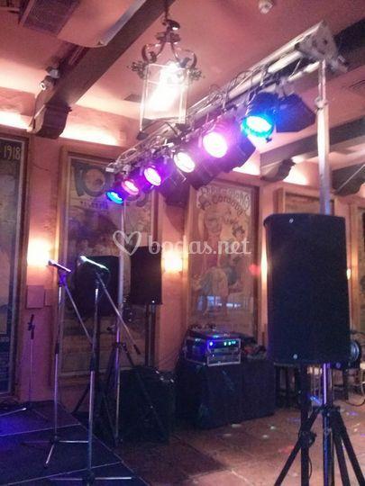 Iluminaci N Led De Audio Alquiler Sevilla Foto 20
