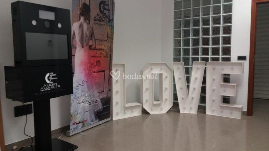 Fotomaton & Letras LOVE