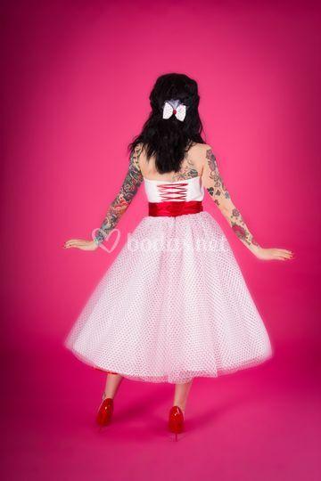 Vestido Años 50 Vuelo De Moda Pin Up Foto 51