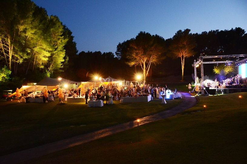 Carpa en Arabella Golf
