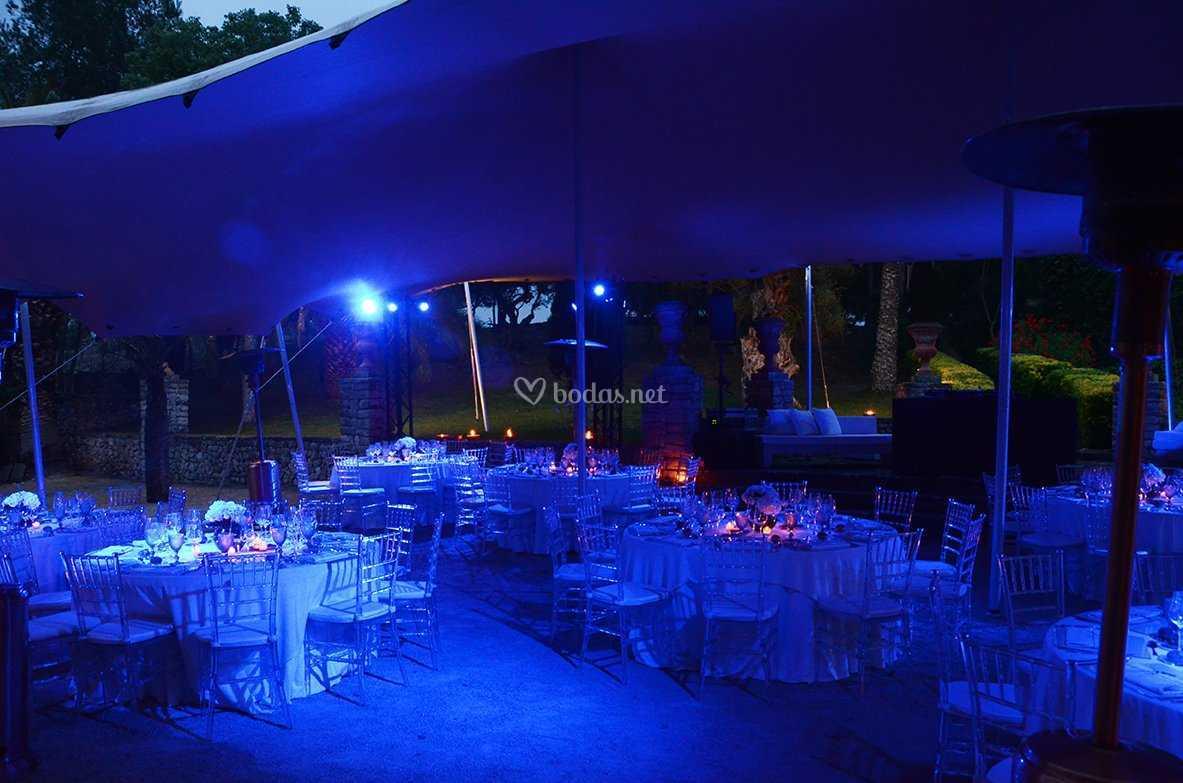 Carpa cena de gala
