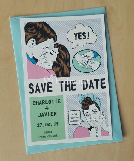 Save The Date Comic