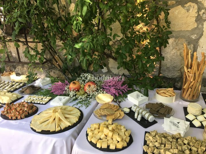 Mesa de queso