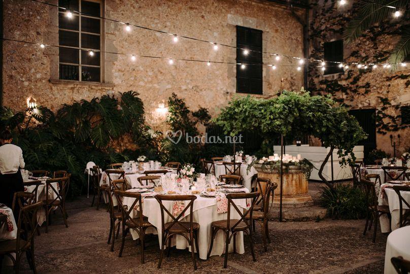 Banquete en clastra