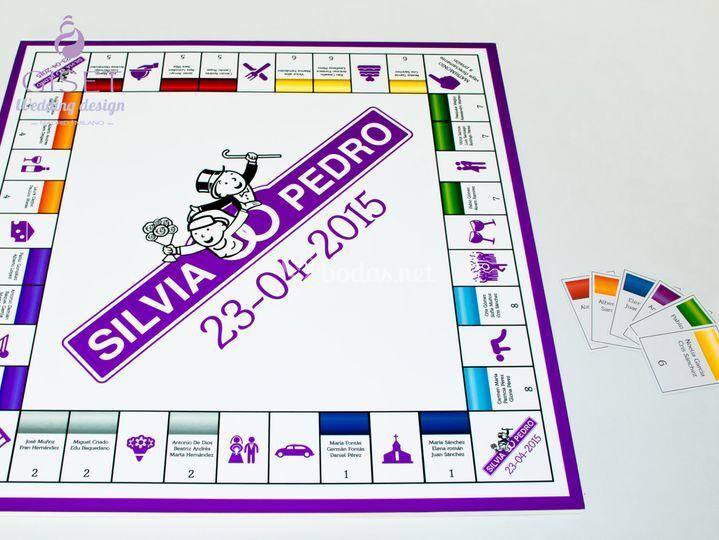 Seating plan boda monopoly