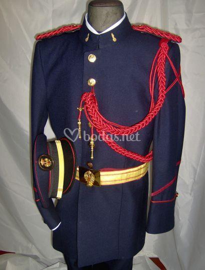 Uniforme gran gala ejército
