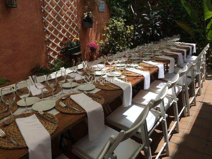 Banquete comunion