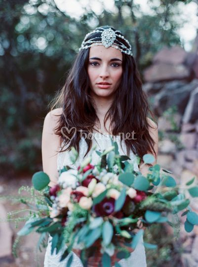 Con el ramo - Love me tender Photo