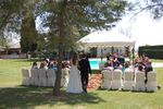 Ceremonia civil  jard�n de Ayre Hotel C�rdoba