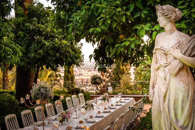 Alfonso catering for Decoracion jardin granada