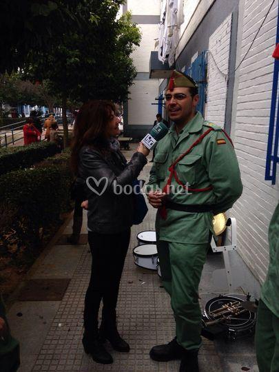 Entrevista en Huelva