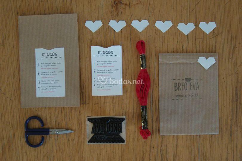 Diseño y confección de invitaciones