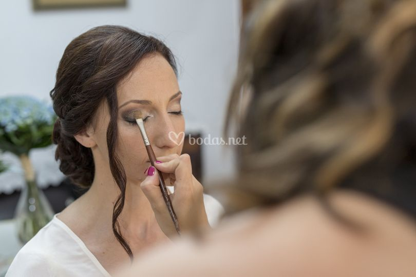Maquillaje novia a domicilio