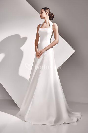Aurelia - vestido de mikado
