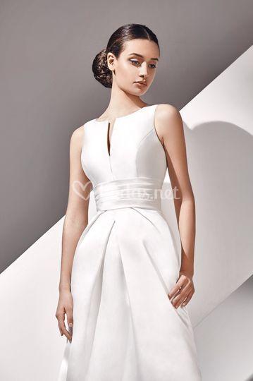 Arcelia - vestido de mikado