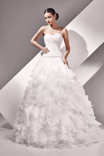 Aylin - vestido de organza