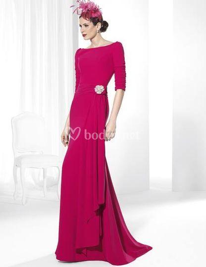 3f5ad6827 Vestido con flecos de sonia peña Vestido de franc sarabia