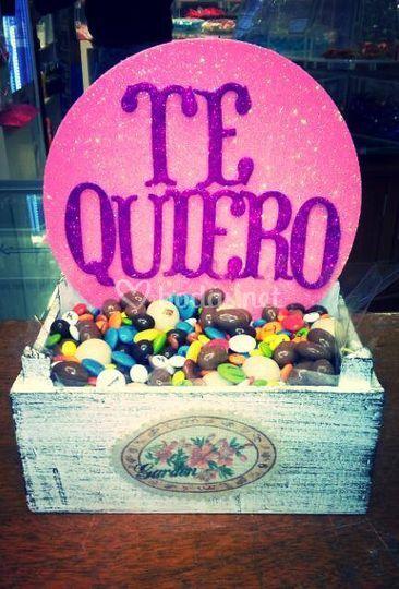 Cajita de chocolates