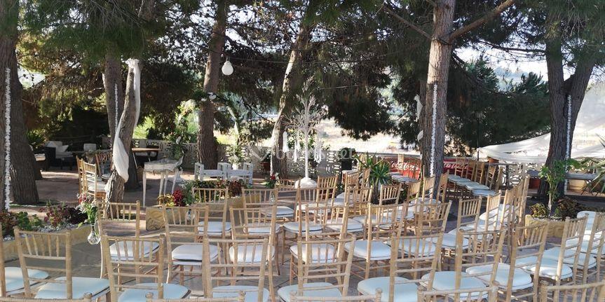 Ceremonia en la Pinada