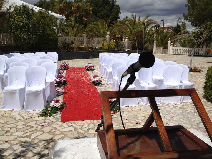 boda civil de jard n los rosales foto 3