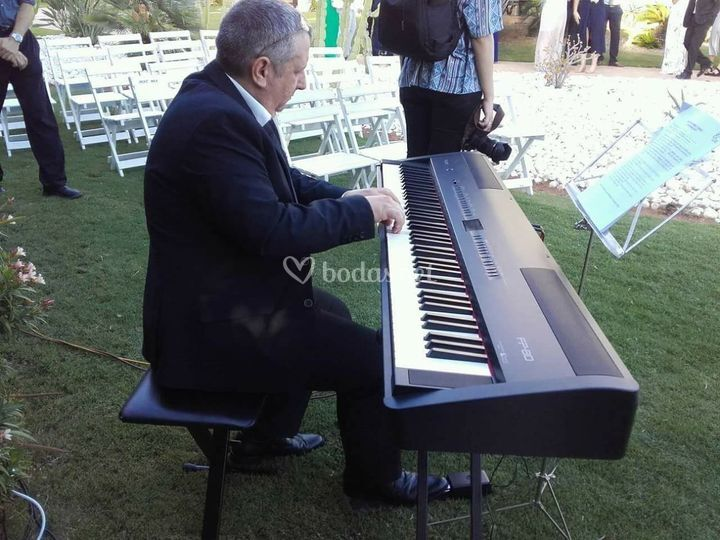 Pianista solista ceremonia