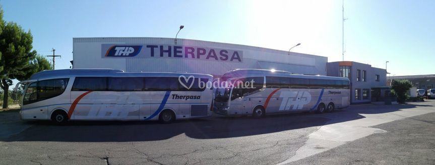 Entrada a Therpasa Zaragoza