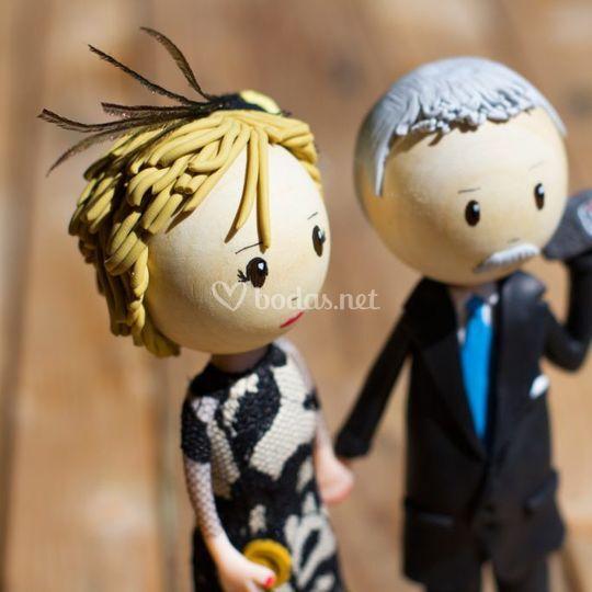 Muñecos aniversario boda