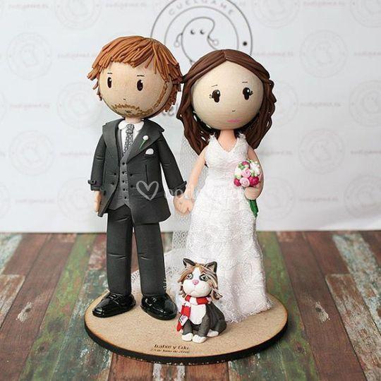 Muñecos boda clásicos