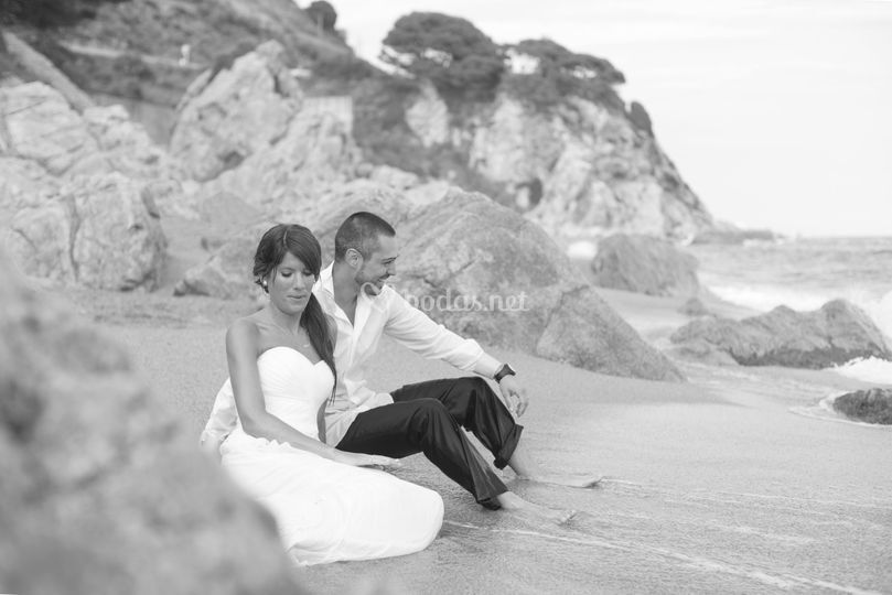 Post boda playa