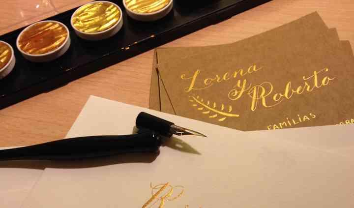 Tinta oro