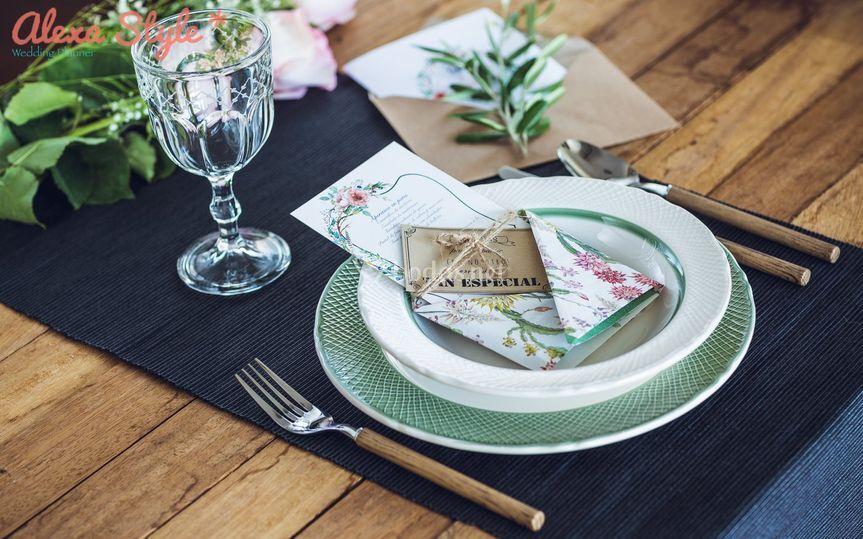 Diseño y decoración de mesas