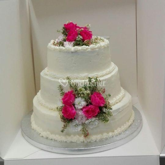 El pastel para la boda