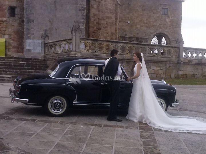 Coches de boda elegantes