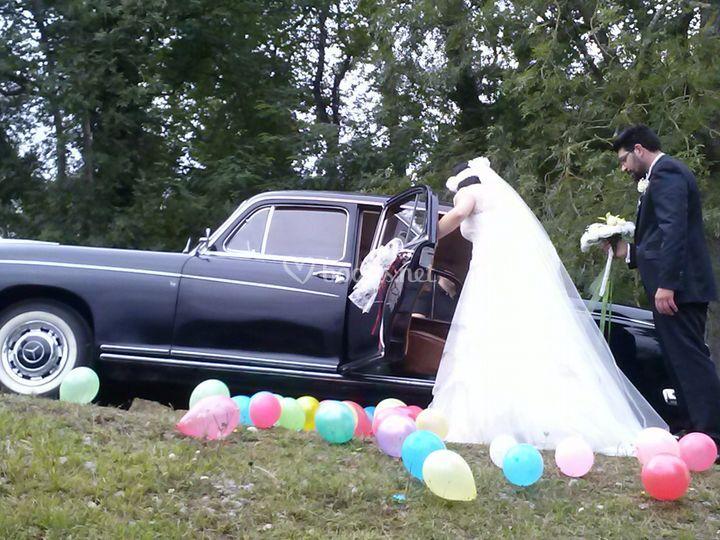 Coches para boda