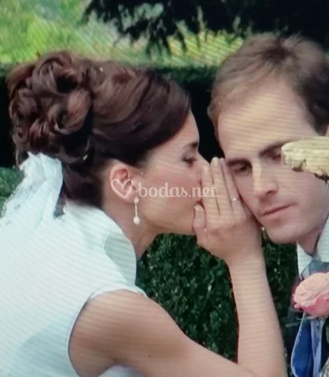 Maquillaje novia y novio
