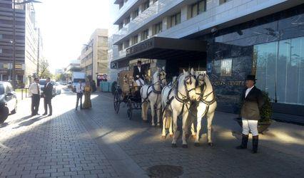 Coches de caballos para bodas 1