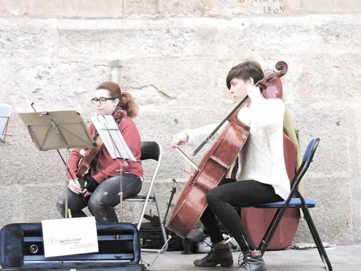 Viola y violonchelo