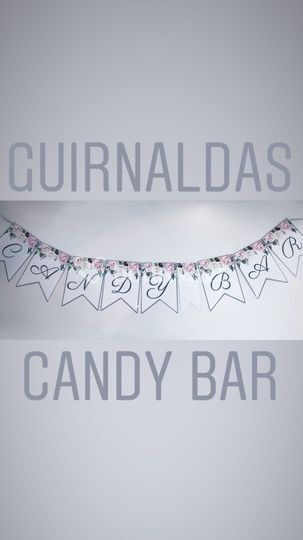 Banderines candy bar