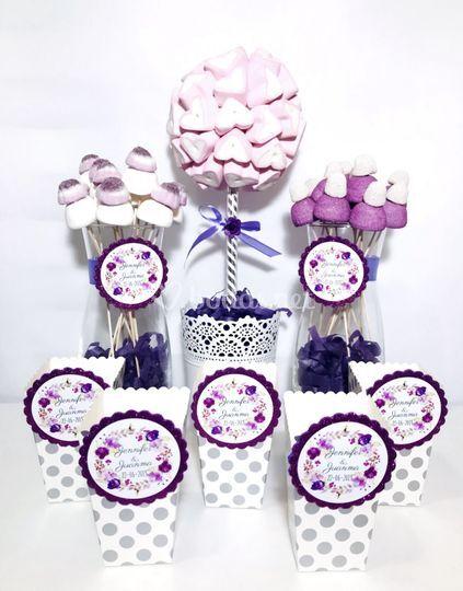 Candy violeta