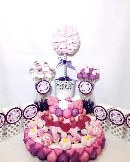Candy bar violeta