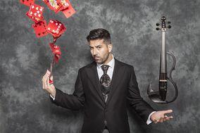 Violinista eléctrico Germán Vilar